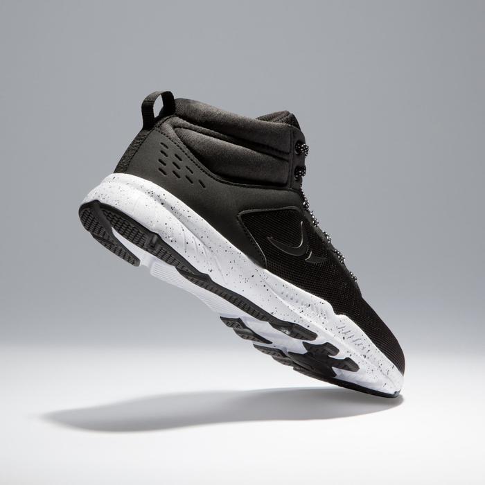 Chaussures fitness cardio-training 100 mid femme noir - 1341249