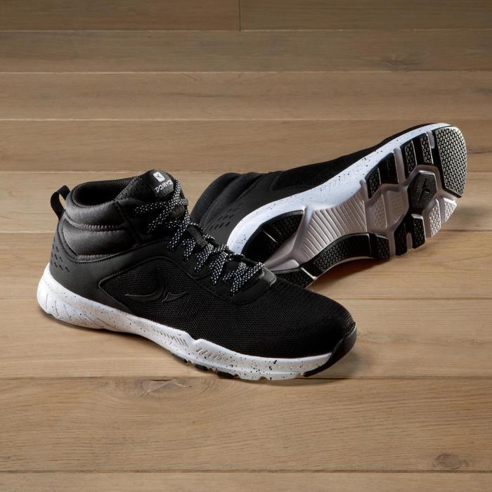 Chaussures fitness cardio-training 100 mid femme noir - 1341255