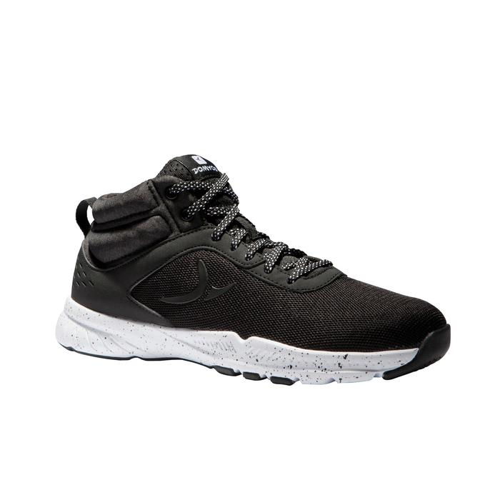 Chaussures fitness cardio-training 100 mid femme noir - 1341262
