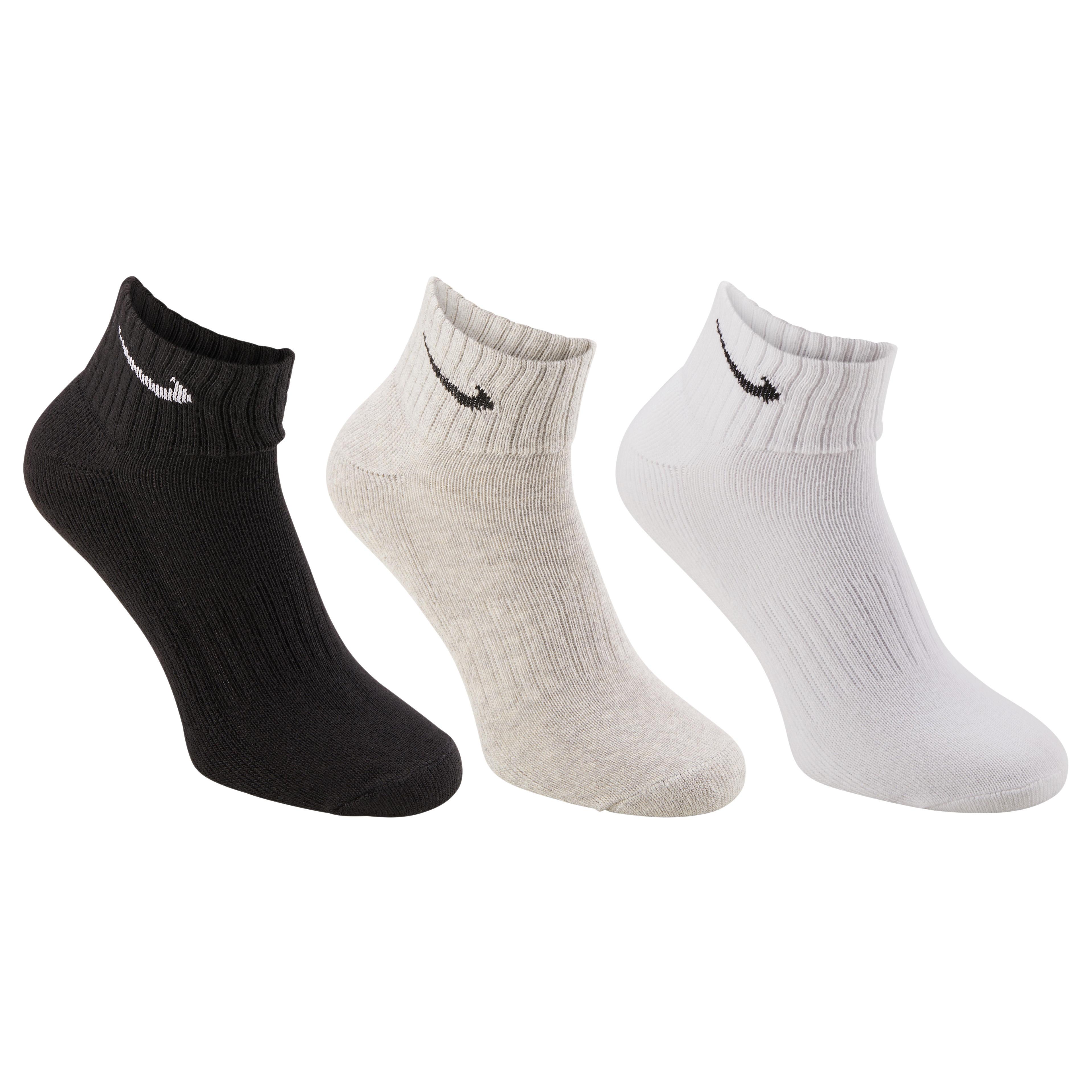 Nike Sokken voor racketsporten Nike Socq wit/zwart/grijs