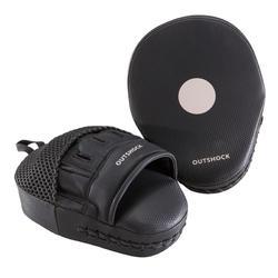 拳擊自由搏擊泰拳專用碳纖維曲線手套