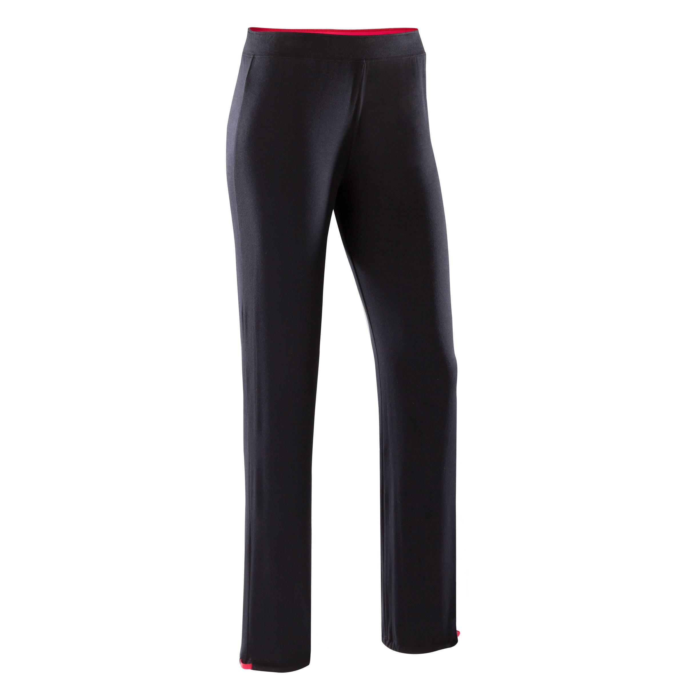 Pantalón ajustable negro para mujer