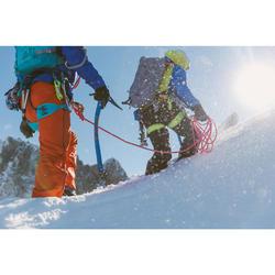 Arnés Escalada Alpinismo Simond Edge Naramja Amarillo Ligero