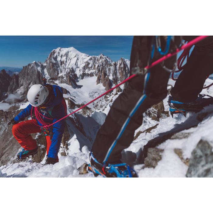 Waterdichte overbroek voor alpinisme voor dames Alpinism rood