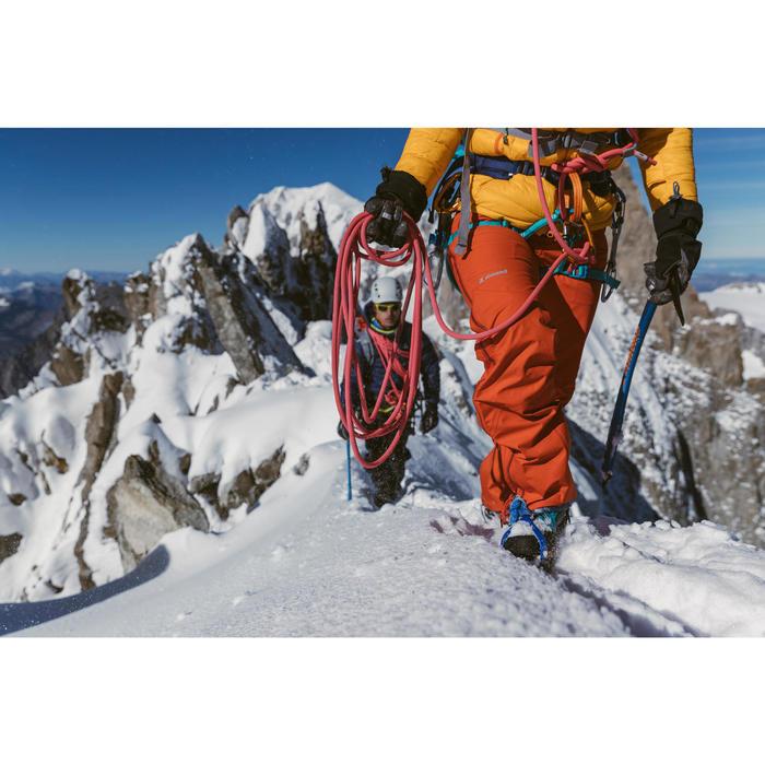 三重認證攀岩及登山繩索8.9 mm x 60 m-粉紅色