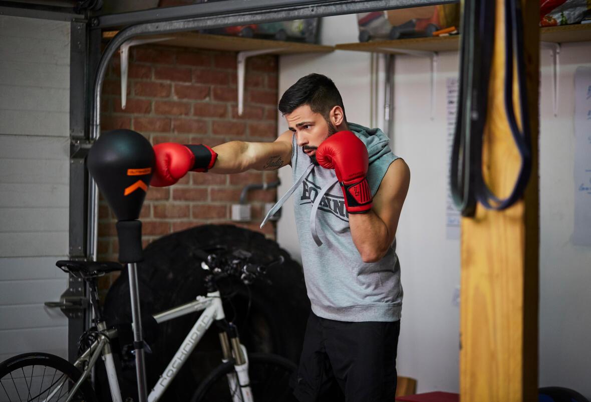 Exercícios de boxe em casa