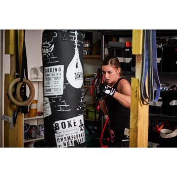 Mitaines de Boxe 100, entrainement sac de frappe - 1341532