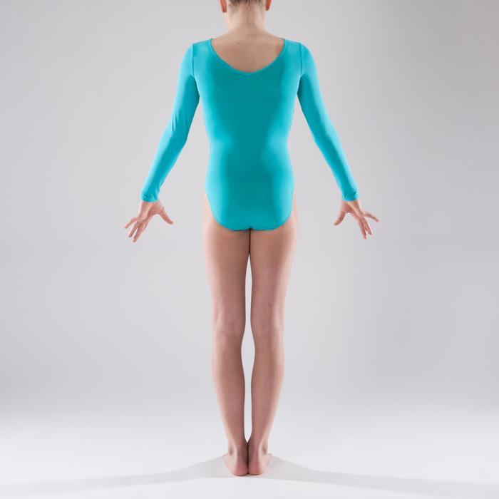 Justaucorps manches longues Gymnastique Féminine sequins - 1341572
