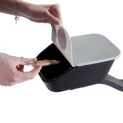 Box met klapdeksel voor kinderfiets