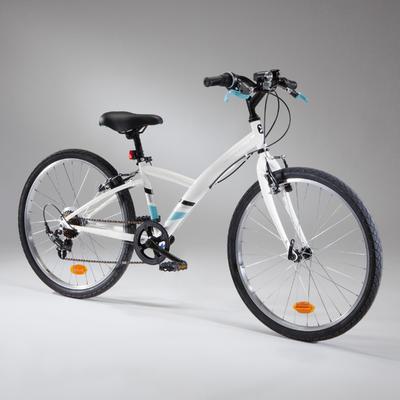 """Original 100 Kids' 24"""" Hybrid Bike 9-12 Years"""
