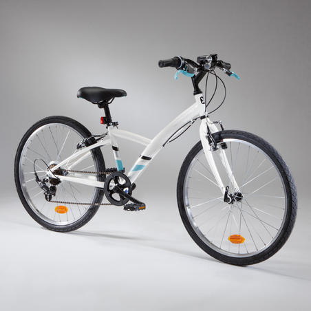"100 Original 24"" Hybrid Bike - Ages 9-12"