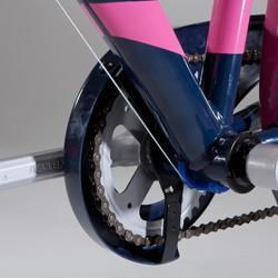 """Kinderfahrrad 24"""" Original 500 blau/pink"""