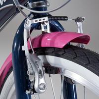 """Original 500 Kids' 24"""" Hybrid Bike 9-12 Years"""