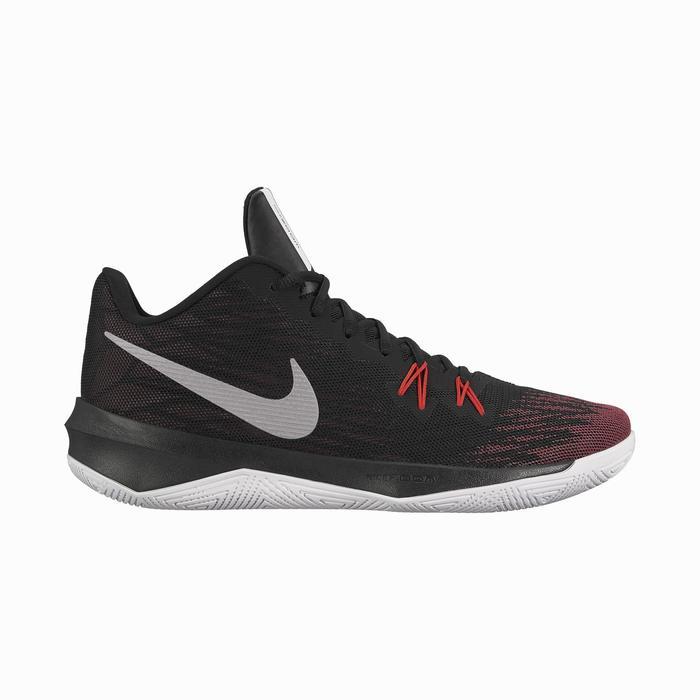 Basketbalschoenen Nike Air Zoom Evidence rood volwassenen
