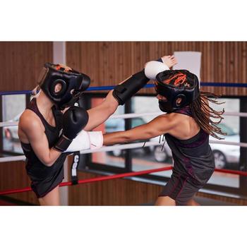 gants de boxe 300 blancs , gants d'entraînement débutant homme ou femme - 1341798