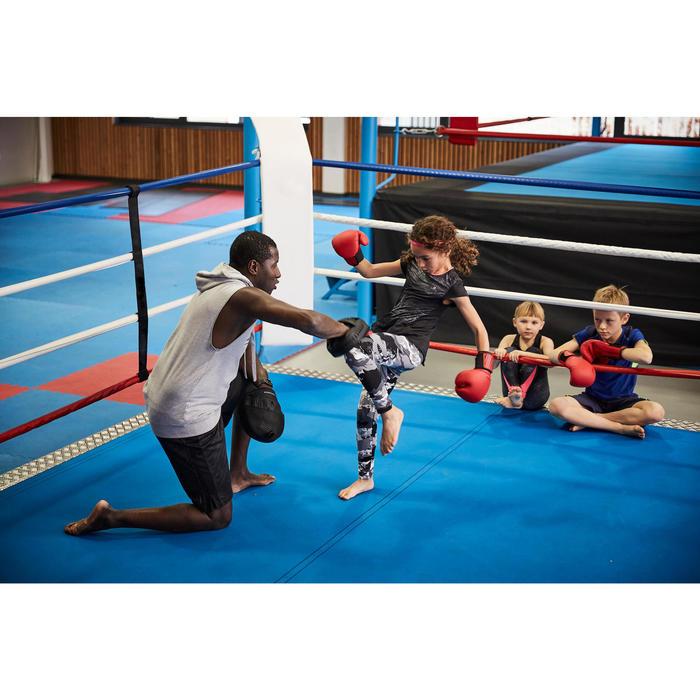 GANTS DE BOXE 100 ROUGES, boxeur débutant homme ou femme - 1341802
