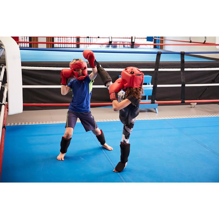 Scheen-voetbeschermer voor beginnende kickboksers en thaiboksers 100
