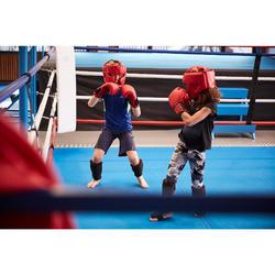 Scheen- en voetbeschermers voor beginnende kickboksers en thaiboksers 100