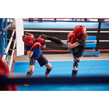 Scheen- en voetbeschermer 100 beginners kickboksen muay thai