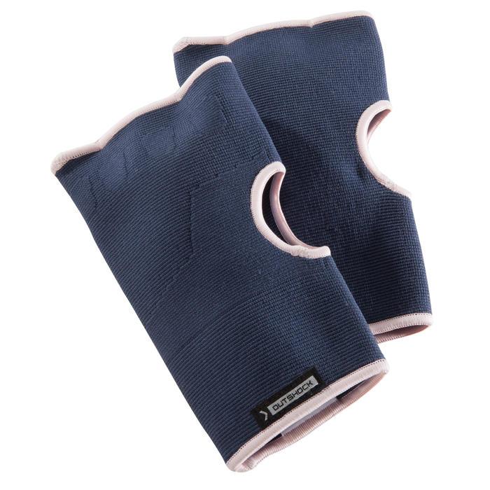 Binnenhandschoenen voor boksen 100 blauw/roze