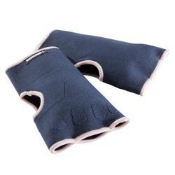 Binnenhandschoenen boksen 100 blauw/roze