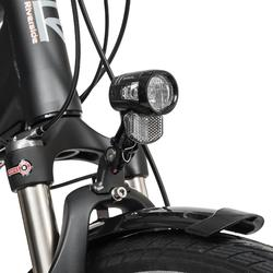 "E-Bike 28"" Trekkingrad Riverside 700 Damen Performance CX 500Wh anthrazit/orange"