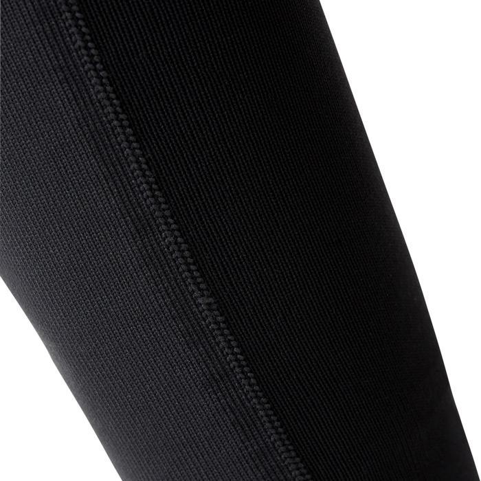 Chaussettes renforcées hautes et résistantes course d'orientation noires