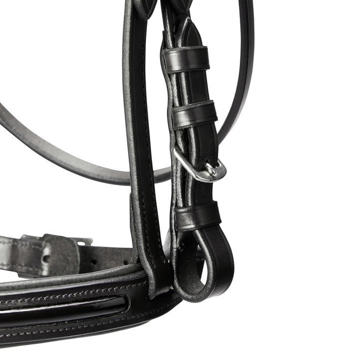 Trense 580 Glossy Leder Pony schwarz