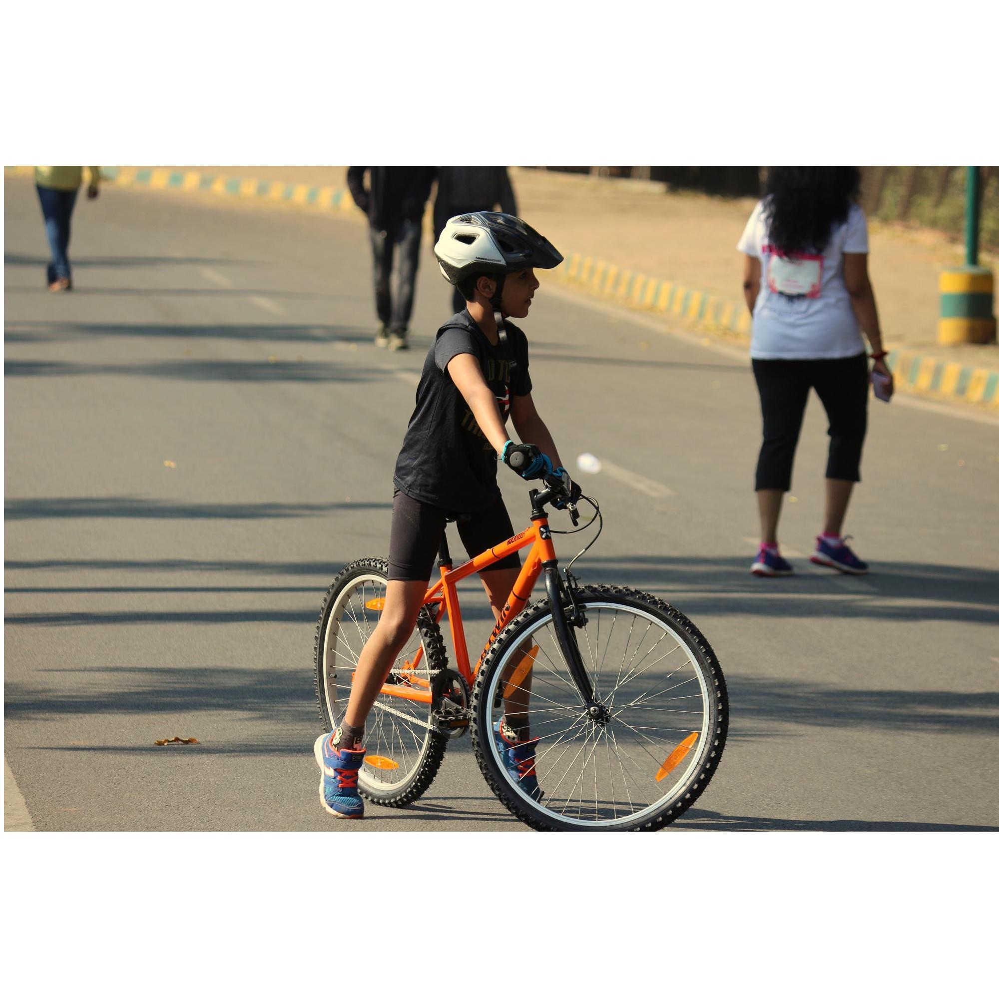 KIDS CYCLE 6-12YEARS ROCKRIDER 100