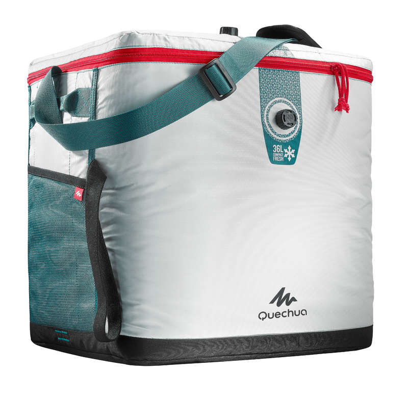 HIKING CAMP COOL BOXES - ICE BOX NH FRESH COMPACT 36L QUECHUA