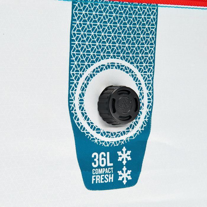 Koeltas kamperen / wandelen in de natuur Fresh compact 36 liter wit