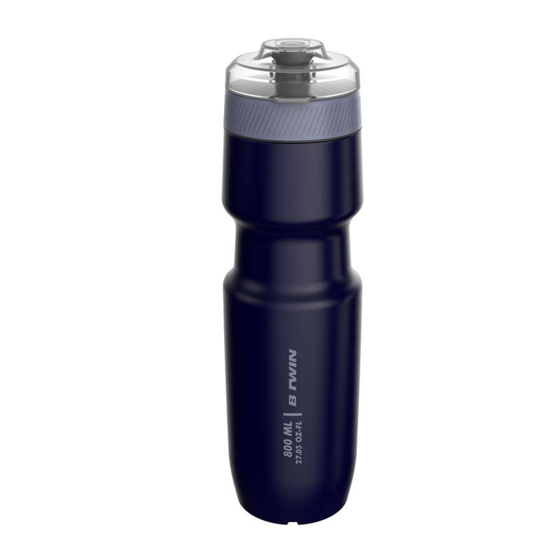FLASKOR & FLASKHÅLLARE FÖR CYKEL Triathlon - Flaska med lock 800 ml TRIBAN - Energi, Näring
