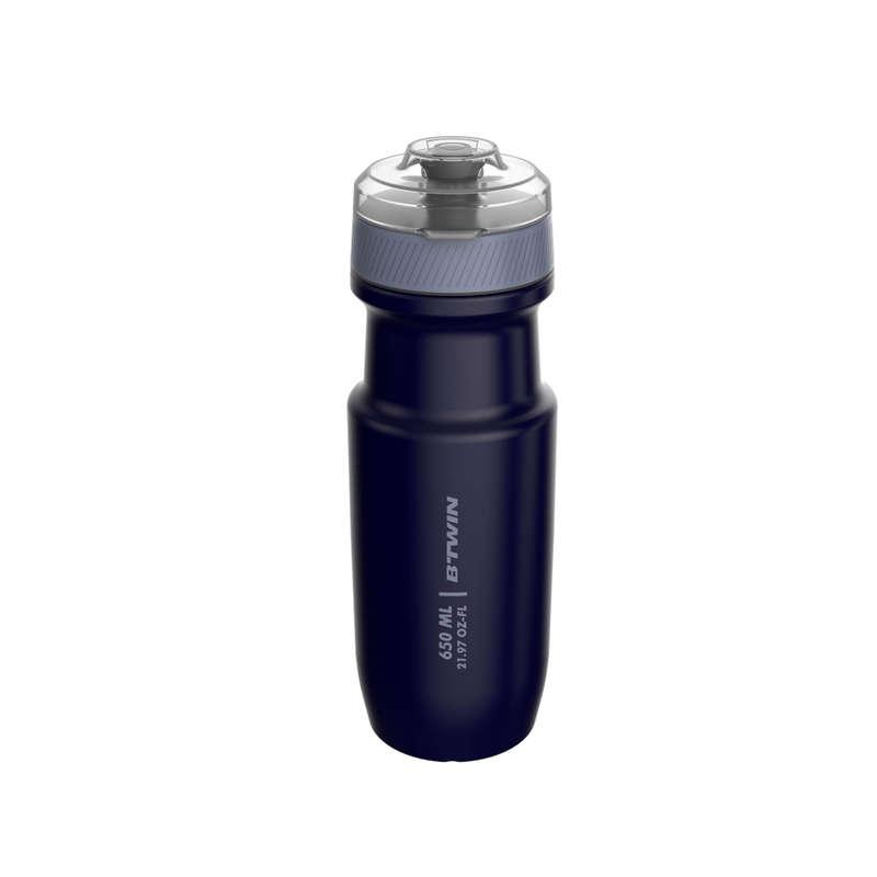 FLASKOR & FLASKHÅLLARE FÖR CYKEL Triathlon - Flaska med lock 650 ml TRIBAN - Energi, Näring