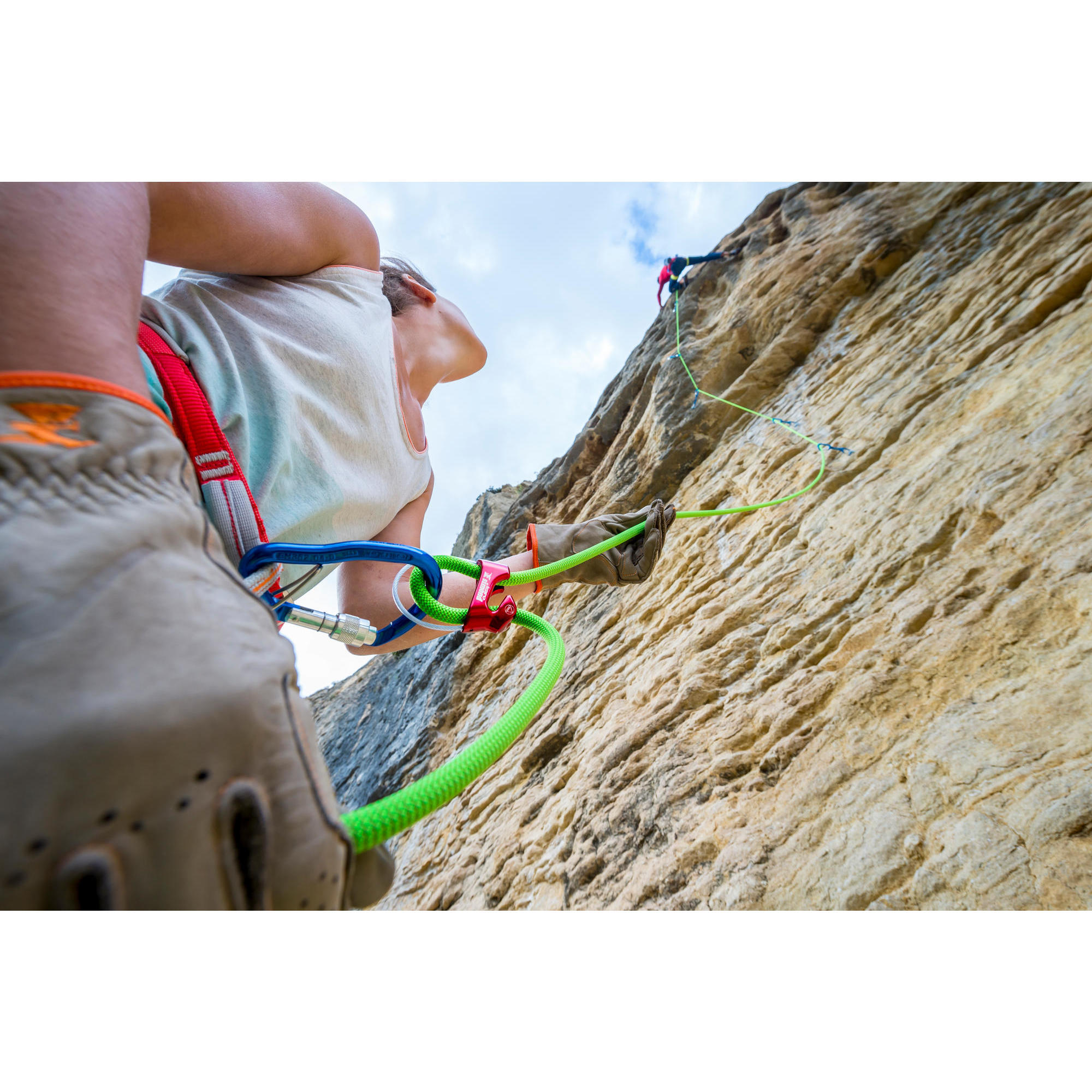 Decathlon Klettergurt Jay : Kletterseil cliff mm m grün simond decathlon