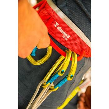 成人款攀岩及登山運動安全吊帶EDGE - 橘黃配色