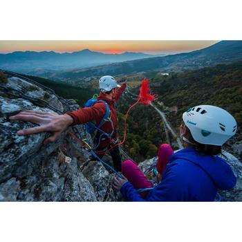 Bergsteiger-Kunstfaserjacke Alpinism wattiert Damen dunkelindigo