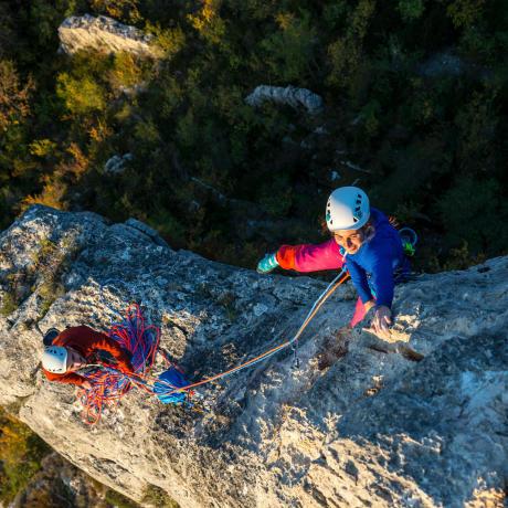 Mehrseiltouren Klettern