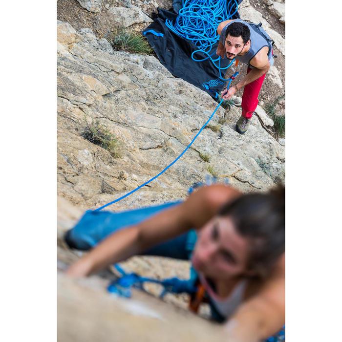 Corde d'escalade ROCK+ 10mm x 80m Bleu - 1342534