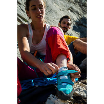 Kletterschuhe Rock+ türkis