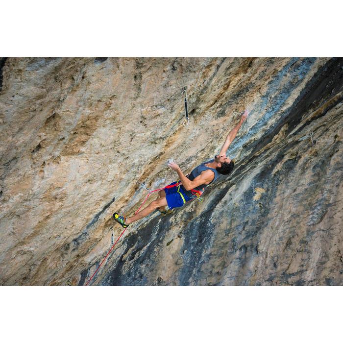 Klettergurt Edge Erwachsene orange gelb