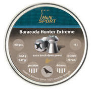 MECI ZA ZRAČNU PUŠKU BARRACUDA HUNTER EXTREME 4,5 MM 0,62 G 400 KOMADA