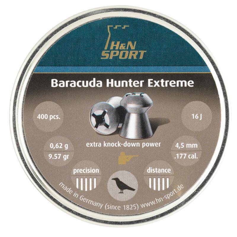 Perdigon Tiro Deportivo H&n Baracuda Hunter Extreme Calibre 4,5 mm 400 Unidades