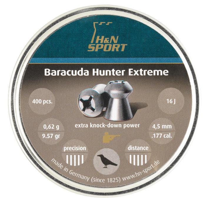 Luftgewehrkugeln Barracuda Hunter Extreme 4,5 mm, 0,62 Gramm