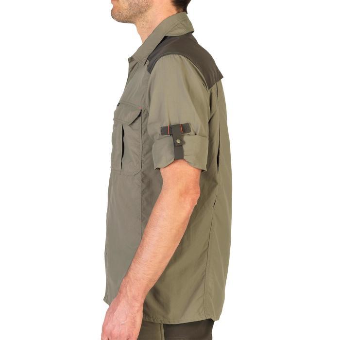 Chemise manches longues légère et respirante chasse 900 kaki