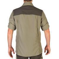 Chemise manches longues légère et respirante chasse 520 kaki