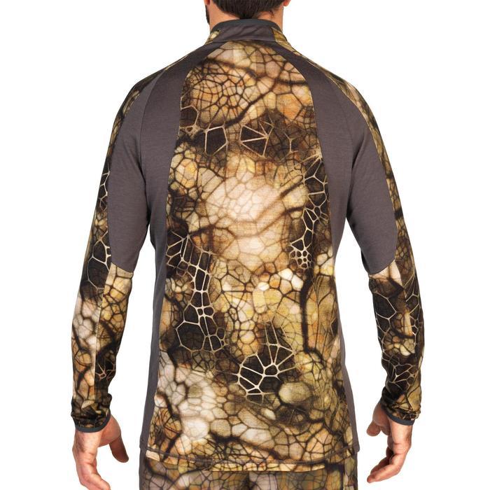 Geluidloos T-shirt merinowol 900 Furtiv