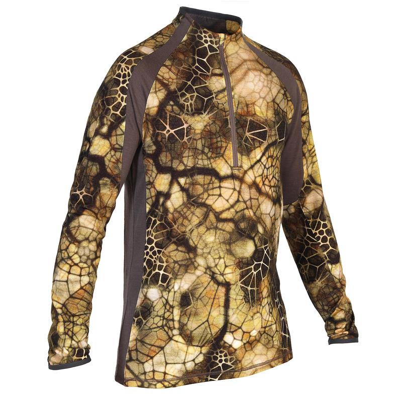 2a36c306f9dce Merino wool polo shirt Source · Furtiv 900 silent breathable Merino wool T  shirt Solognac