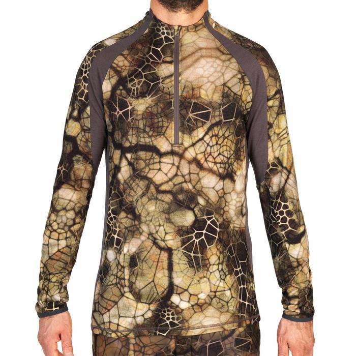 T-shirt Manches Longues Silencieux Respirant Merinos 900 Furtiv - 1342627