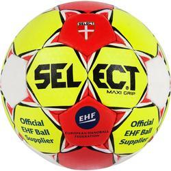 Handball Maxi Grip gelb/rot