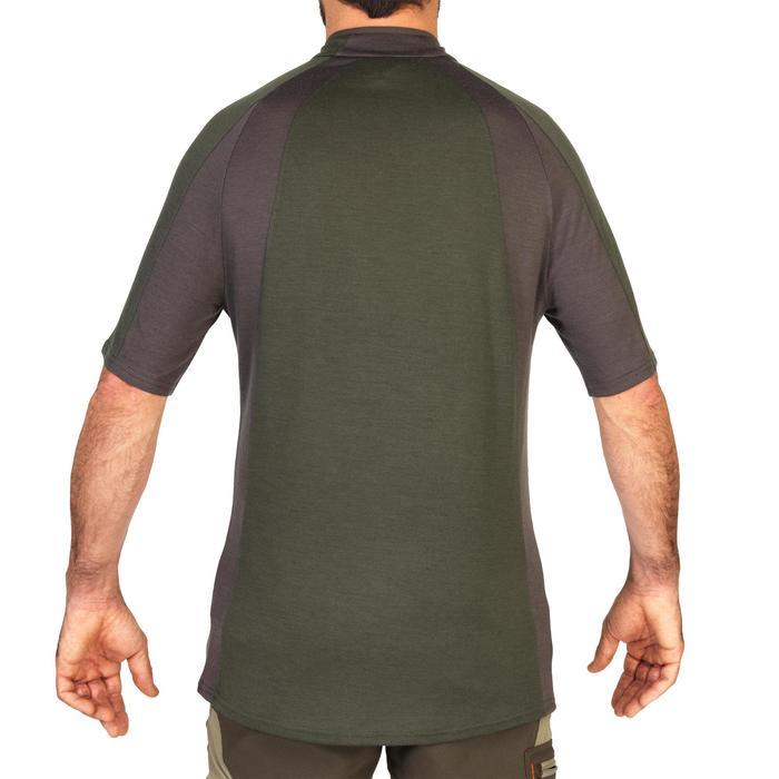 Tee shirt SG900 Laine Merinos manches courtes vert - 1342634